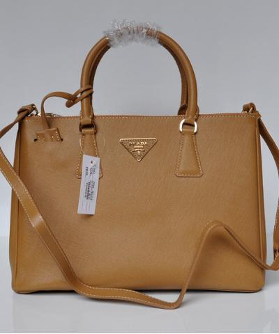 Сумка Prada Saffiano Lux Tote Bag Camel