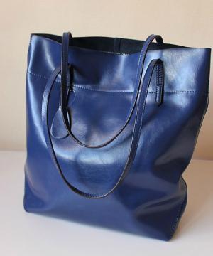 Cумка Shopper Tote Navy Blue Bag