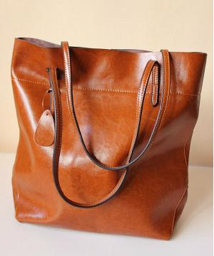 Cумка Shopper Tote Brown Bag