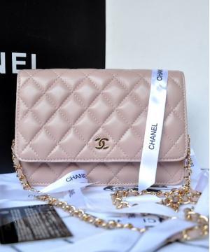 Клатч Шанель WOC Pale Pink