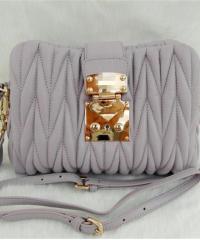 Сумка Miu Miu Grey Bag