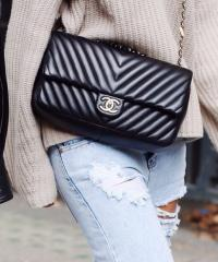 Сумка Chanel Chevron Flap