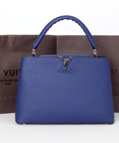 Сумка Louis Vuitton Capucines Royal Blue