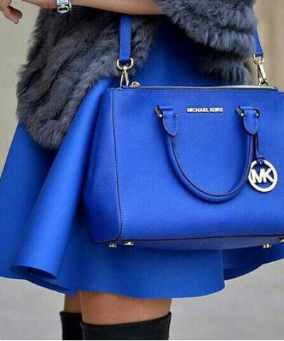 Сумка Michael Kors Medium Sutton Royal Blue