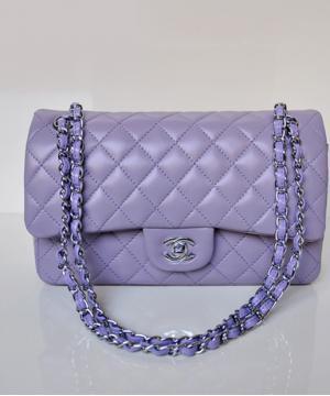 Сумка Шанель Flap 2.55 Lilac