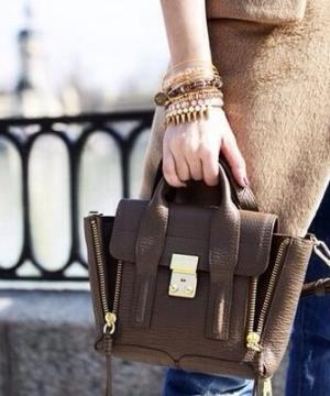 Сумка 3.1 Phillip Lim Mini Pashli Brown