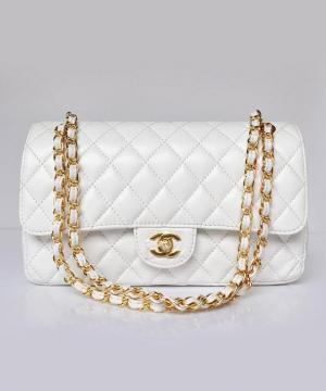 Сумка Шанель Flap 2.55 White