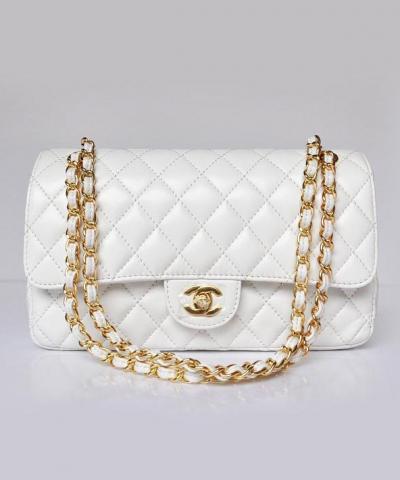 Сумка Сhan**l Flap 2.55 White