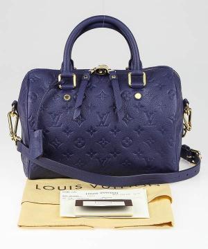 Сумка Louis Vuitton Speedy Royal Blue