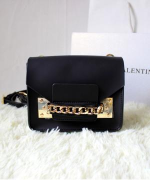 Сумка Sophie Hulme Envelope Bag Black