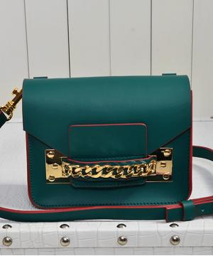 Сумка Sophie Hulme Envelope Bag Green