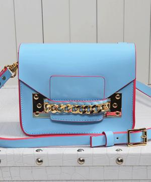 Сумка Sophie Hulme Envelope Bag Blue