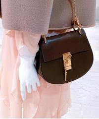 Сумка Chloe Drew Mini Brown